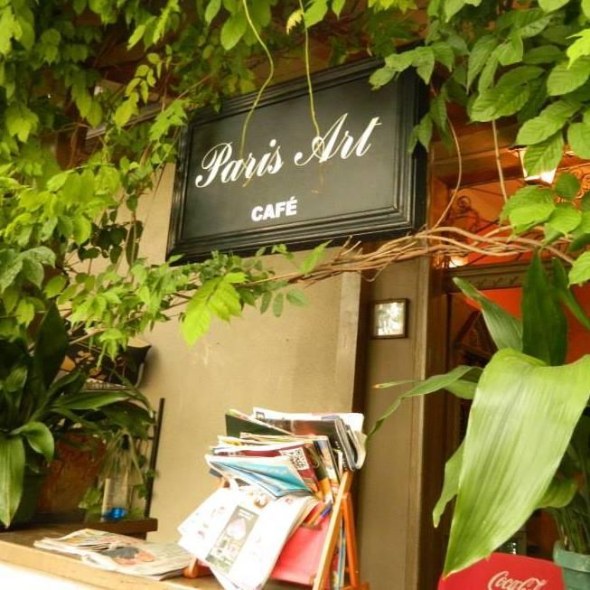 Izložba radova Mine Stefanović u Paris art kafe galeriji!